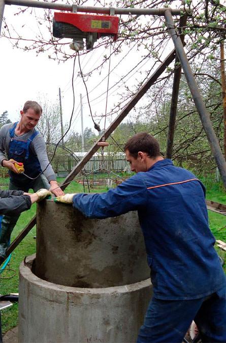 Как мы углубляем колодец в Осташево